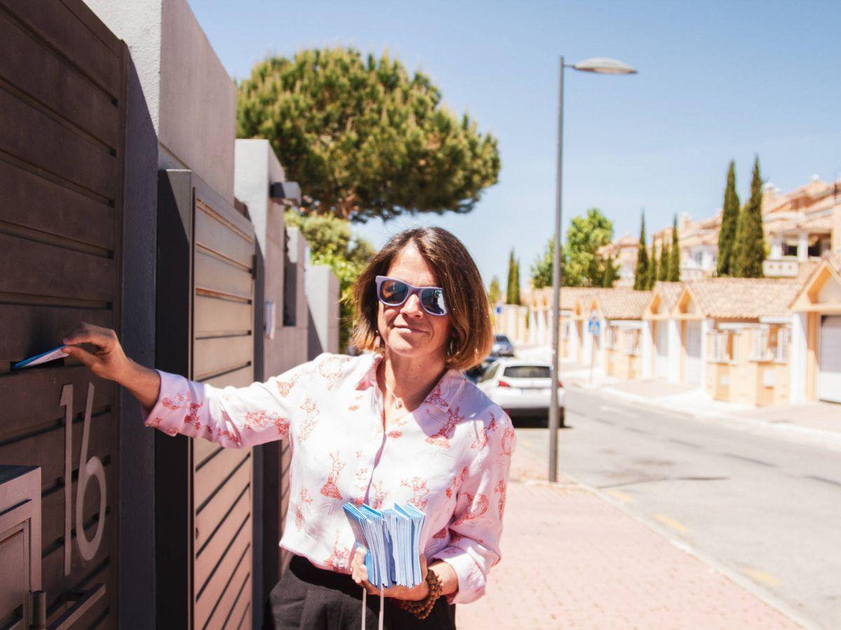 Foto: Elena Biurrun, exalcaldesa de Torrelodones y jefa de gabinete de Escrivá. (Jorge Álvaro Manzano)