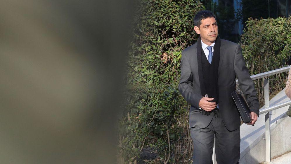Foto: Trapero, en su última comparecencia en la Audiencia Nacional. (EFE)