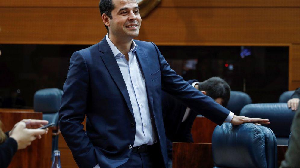Foto: El portavoz de Ciudadanos en la Cámara regional, Ignacio Aguado. (EFE)