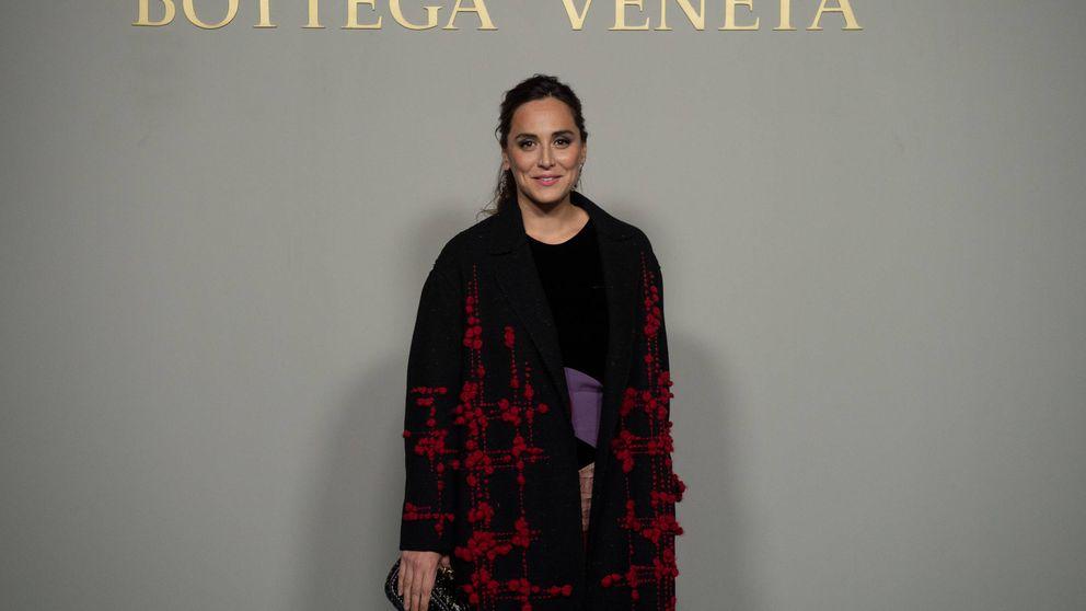 Tamara Falcó, la mejor modelo de su abrigo de 875 euros