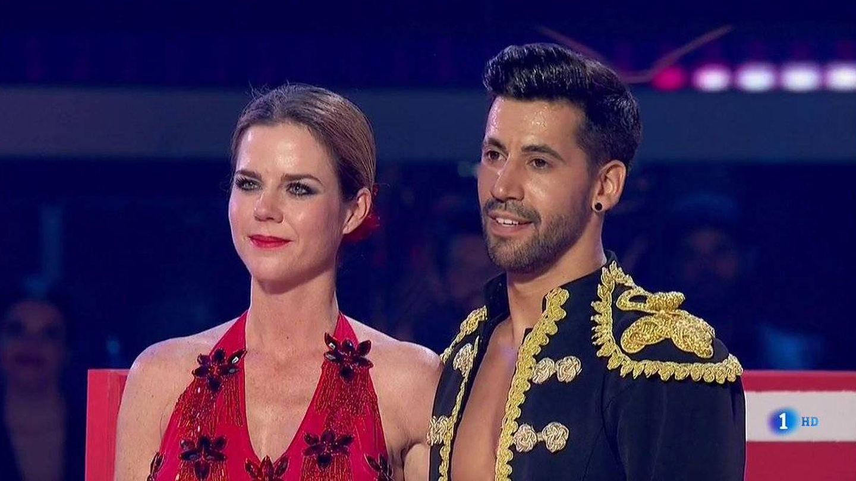 Amelia Bono, a su paso por 'Bailando con las estrellas'. (TVE)