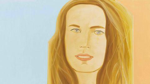 El retrato femenino de Alex Katz: al natural y en una sesión
