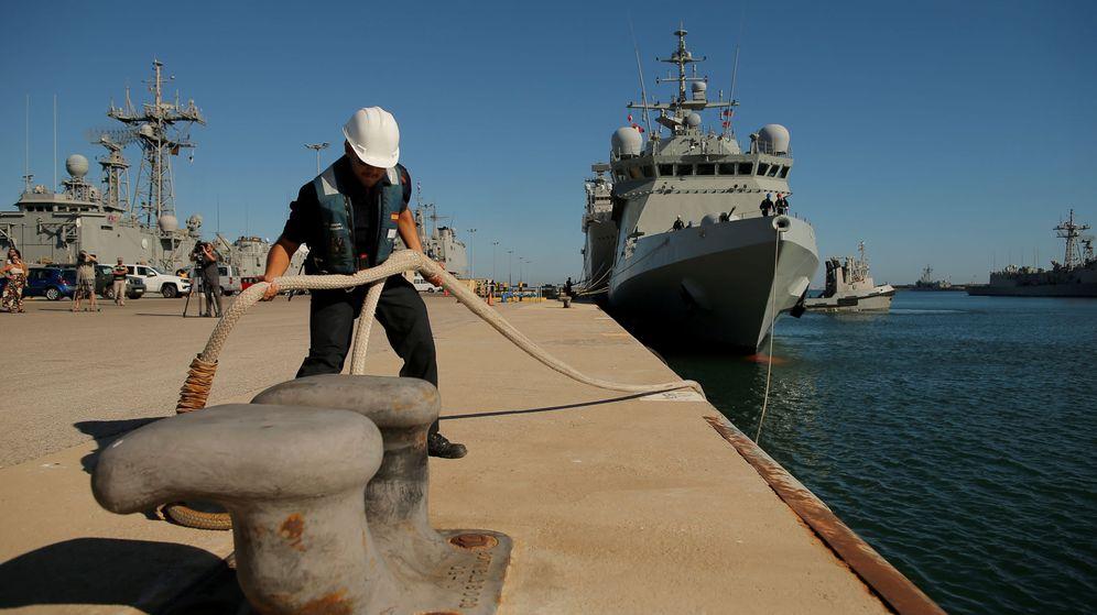 Foto: Base naval de Rota. (Reuters)