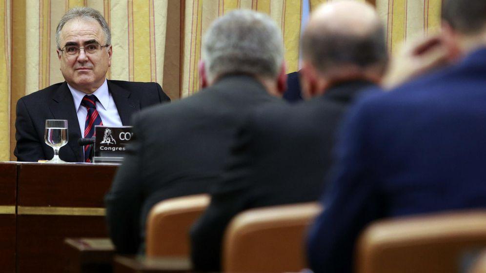 Foto: Ángel Yuste, secretario general de Instituciones Penitenciarias, durante una comparecencia en el Congreso de los Diputados. (EFE)