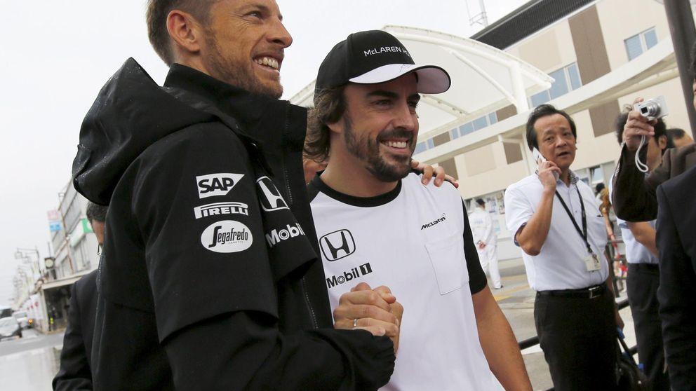 Button espera que Alonso le aniquile durante todo el GP de Estados Unidos