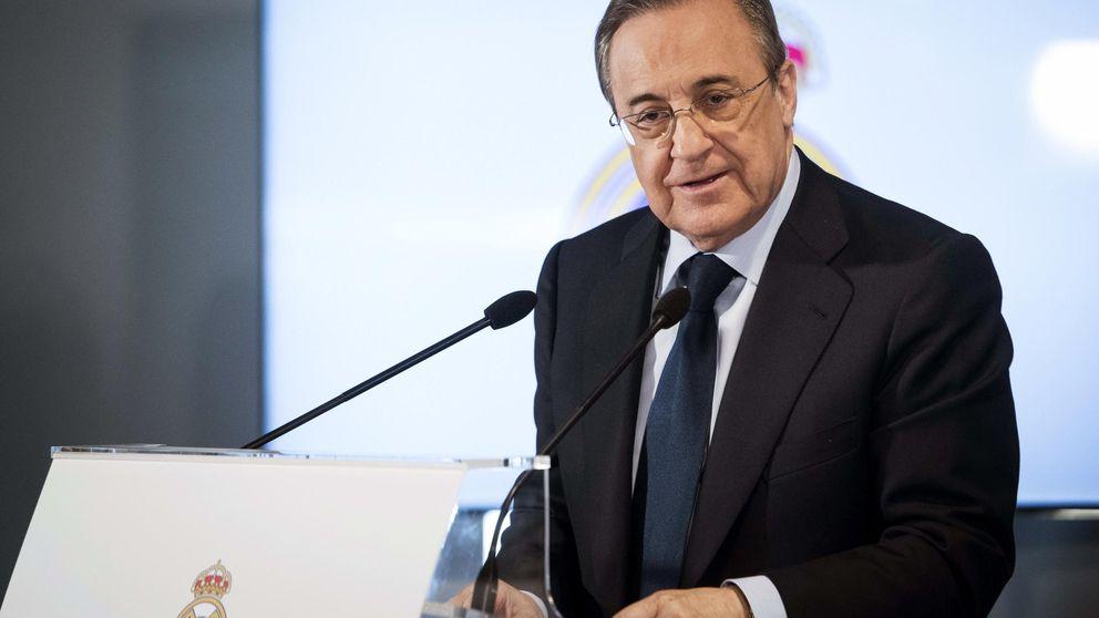 Florentino Pérez abandonó enfadado la comida de directivas previa al derbi