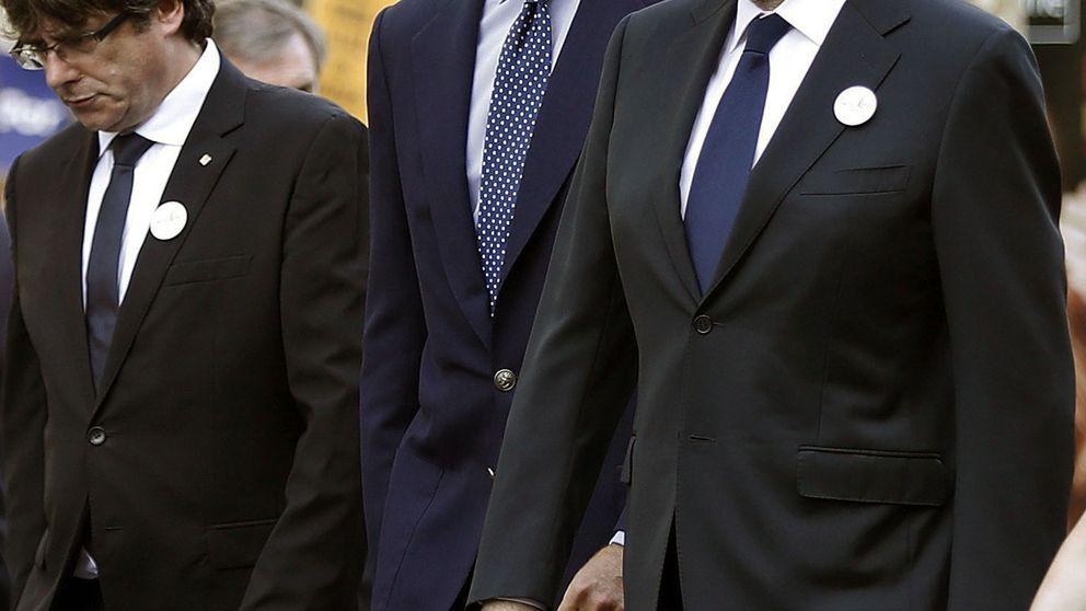 El Rey vuelve a Barcelona tras la marcha antiterrorista y en pleno artículo 155