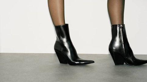 Zara se supera con unos nuevos (y espectaculares) botines cowboy negros