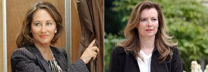 Ségolène Royal perdona pero no olvida el 'tuit' de Valérie Trierweiler