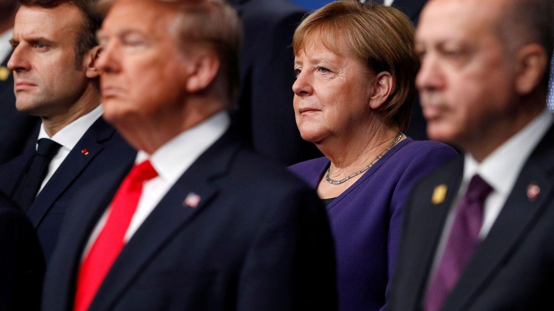 Angela Merkel ha llegado a ser definida como la líder demócrata del mundo libre. (Reuters)