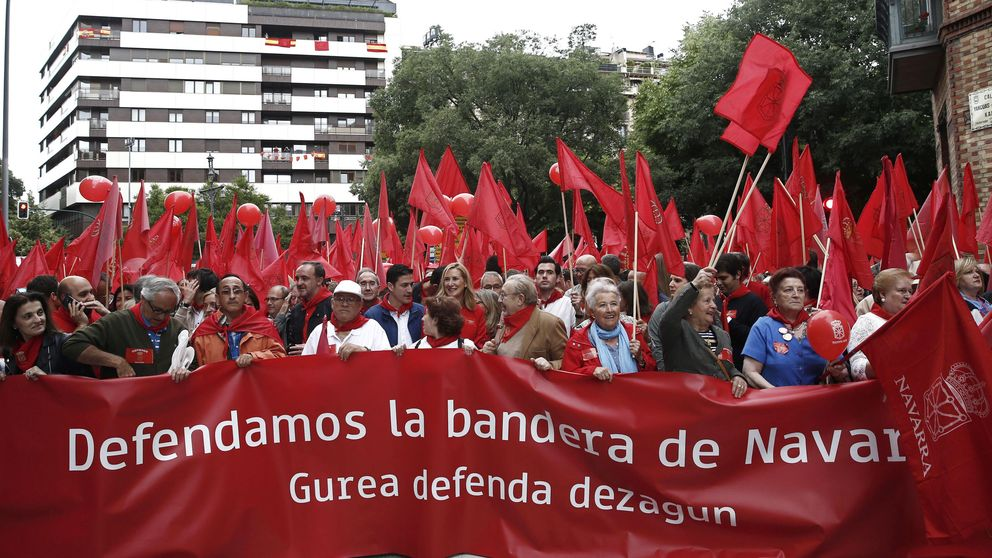 Barkos la vuelve a liar con la bandera navarra: xenofobia, fascismo, error histórico...