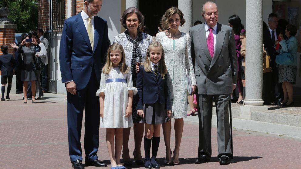 La primera comunión de la Princesa de Asturias
