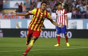 Neymar para a un gran Atlético y deja todo pendiente de Barcelona