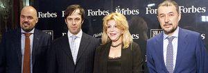La baronesa Thyssen, Entrecanales y Samaranch apadrinan el lanzamiento de 'Forbes' en España