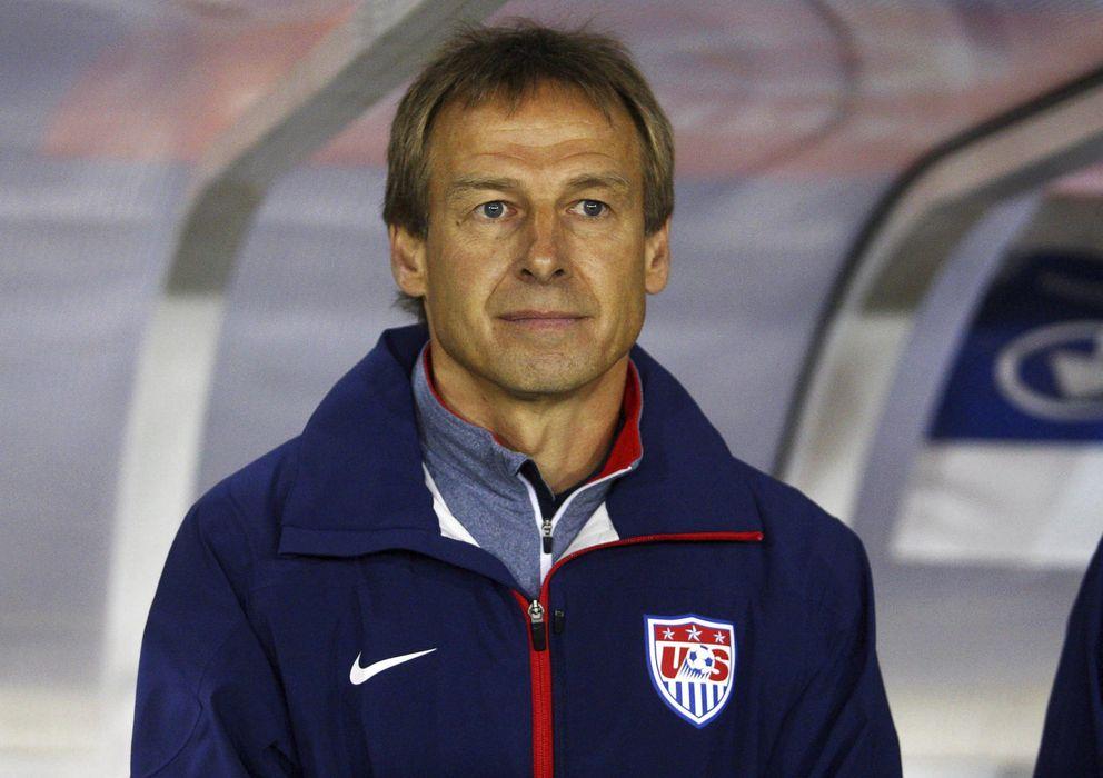 Foto: Klinsmann, durante un partido con Estados Unidos (Efe).