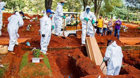 Fallecidos por el virus en Brasil