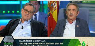 Post de El zasca de Miguel Ángel Revilla a Paco Marhuenda por bromear con Sánchez