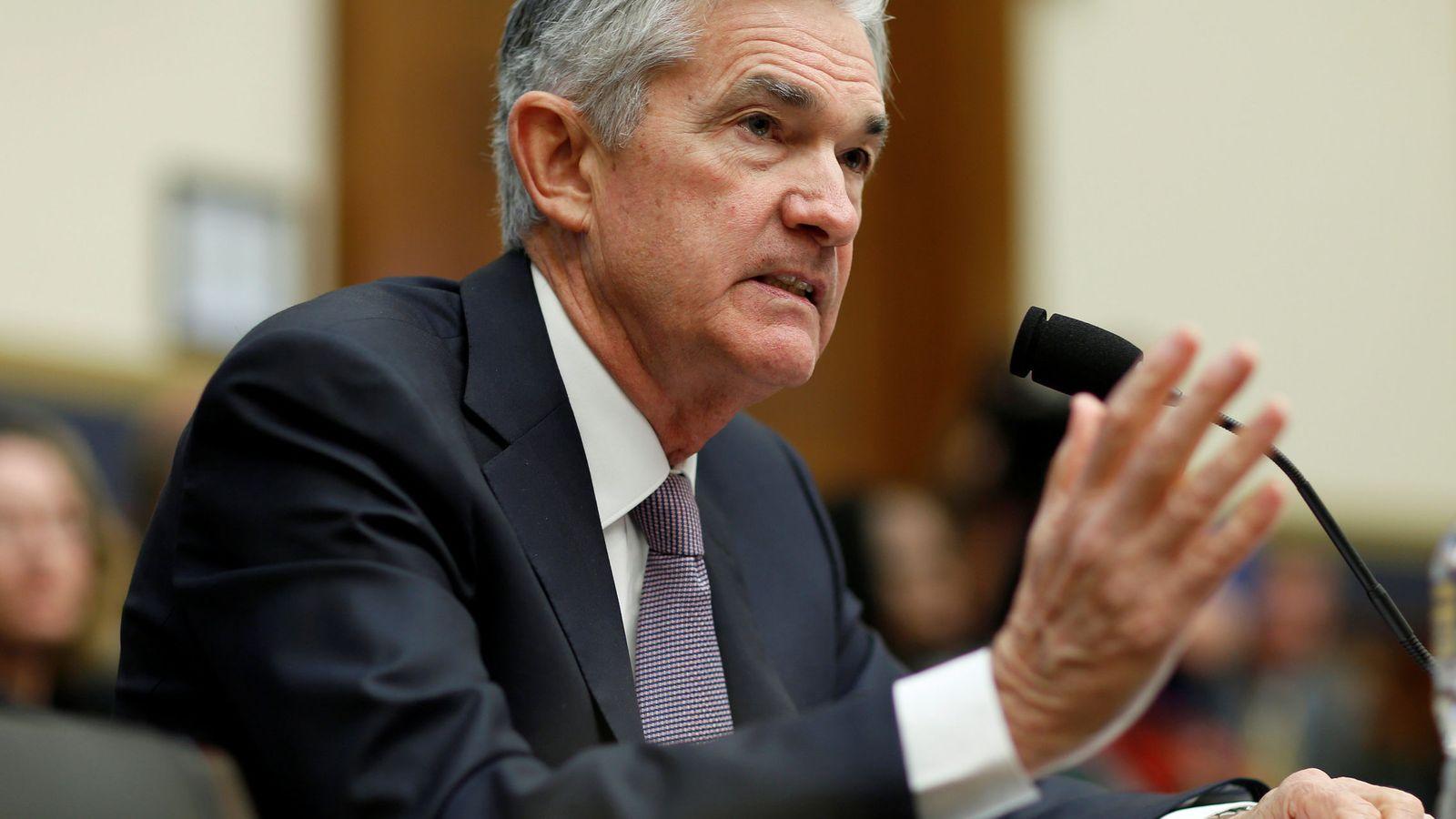 Foto: Jerome Powell, presidente de la Fed. (Reuters)