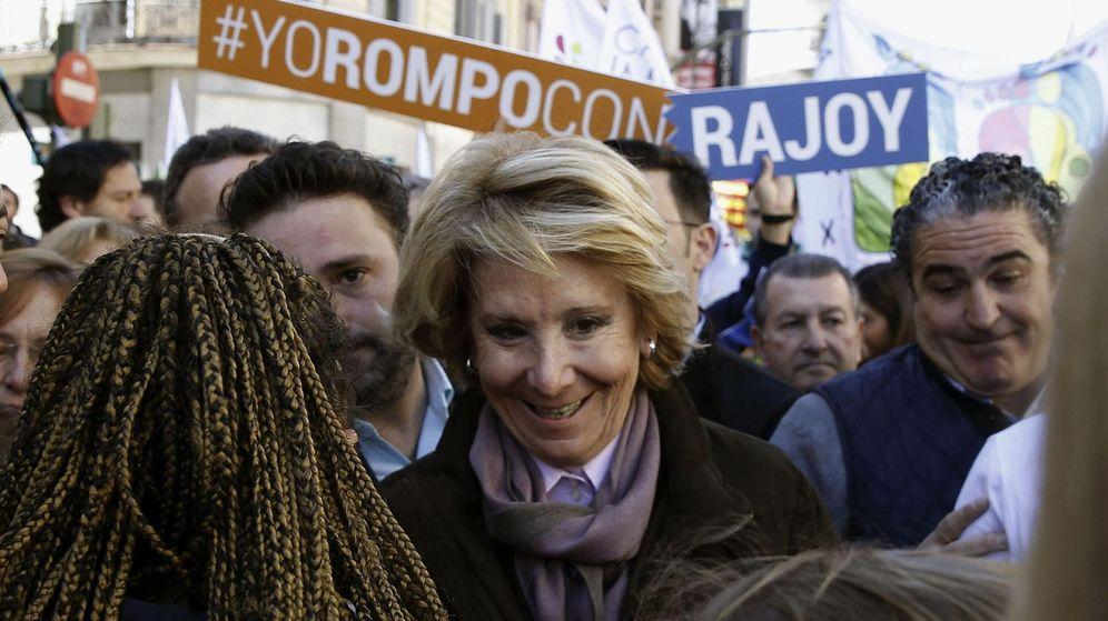 Foto: La candidata del Partido Popular a la alcaldía de Madrid, Esperanza Aguirre. (EFE/J.J. Guillén)