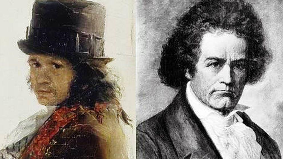 Escuchar a Beethoven en la pintura de Goya