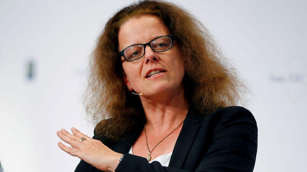 Foto: Isabel Schnabel, miembro del comité ejecutivo del BCE (Reuters)