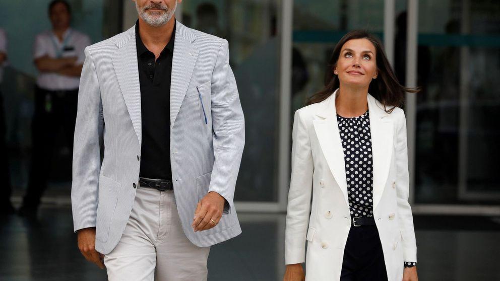 El gesto inédito de Felipe y Letizia: las 'tripas' de Zarzuela, en redes por primera  vez