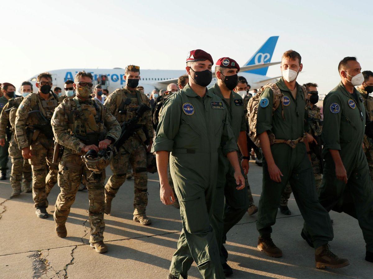 Foto: Militares españoles. (EFE)