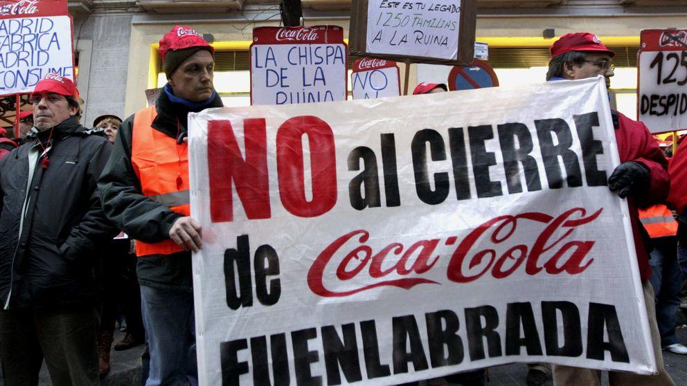 Plantilla de Coca-Cola denuncia el desmantelamiento una planta