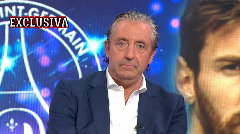 Josep Pedrerol, en 'El chiringuito de jugones'. (Atresmedia Televisión)