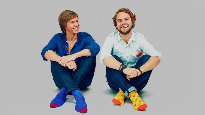 Felipe Cortina, junto a Álvaro Gomis, su socio en Jimmy Lion. (Cortesía)