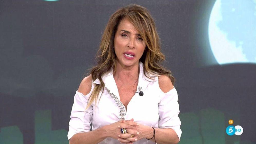 Foto: María Patiño, en 'Sábado Deluxe'. (Telecinco).
