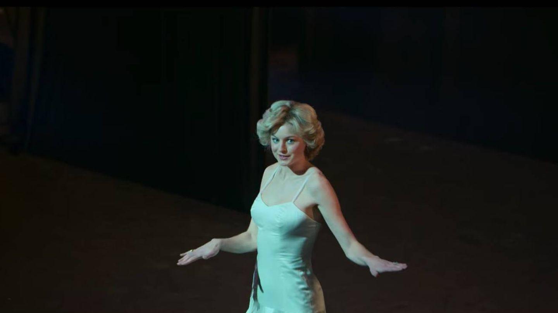 La princesa Diana en la ficción, bailando en la Royal Opera House. (Netflix)
