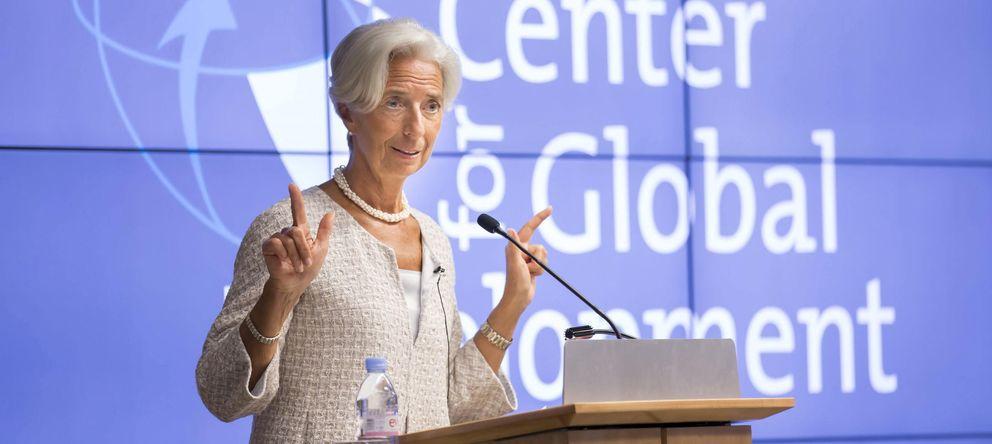 Foto: Christine Lagarde, directora del FMI (EFE)