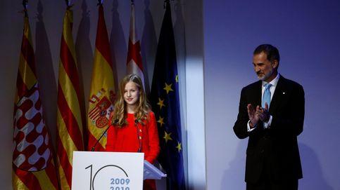 El Rey recuerda que no hay cabida para la violencia ni la intolerancia en Cataluña