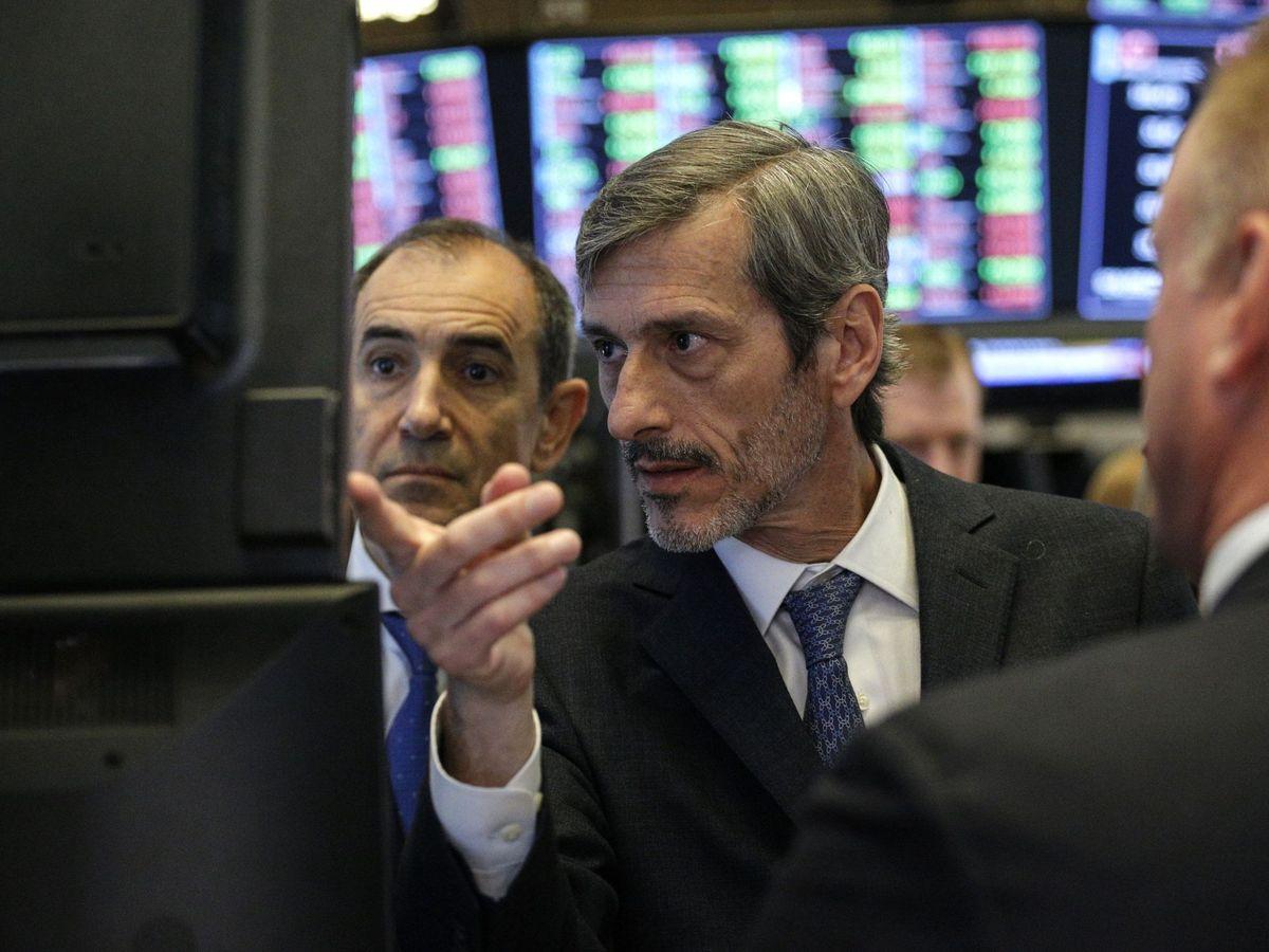 Foto: Inversores en Wall Street. (EFE)