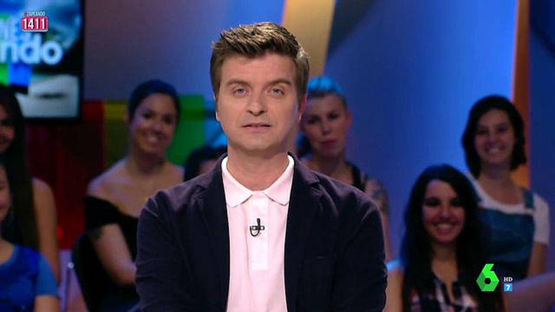 Marc Giró, en 'Zapeando'. (Atresmedia)