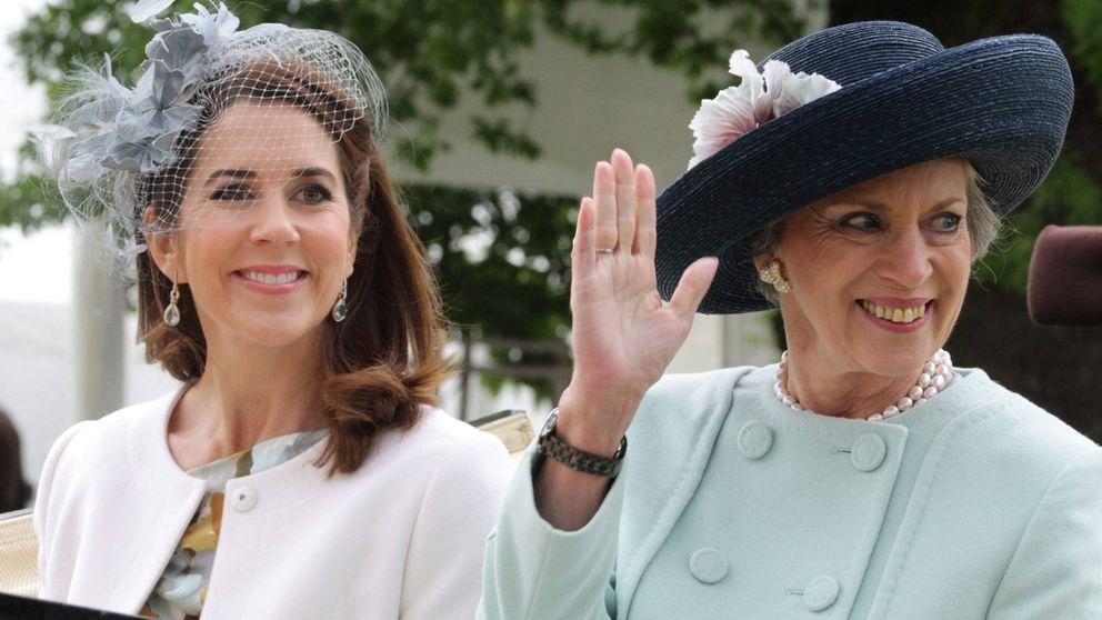 El rapapolvo de Benedicta de Dinamarca a la princesa Mary por su forma de vestir