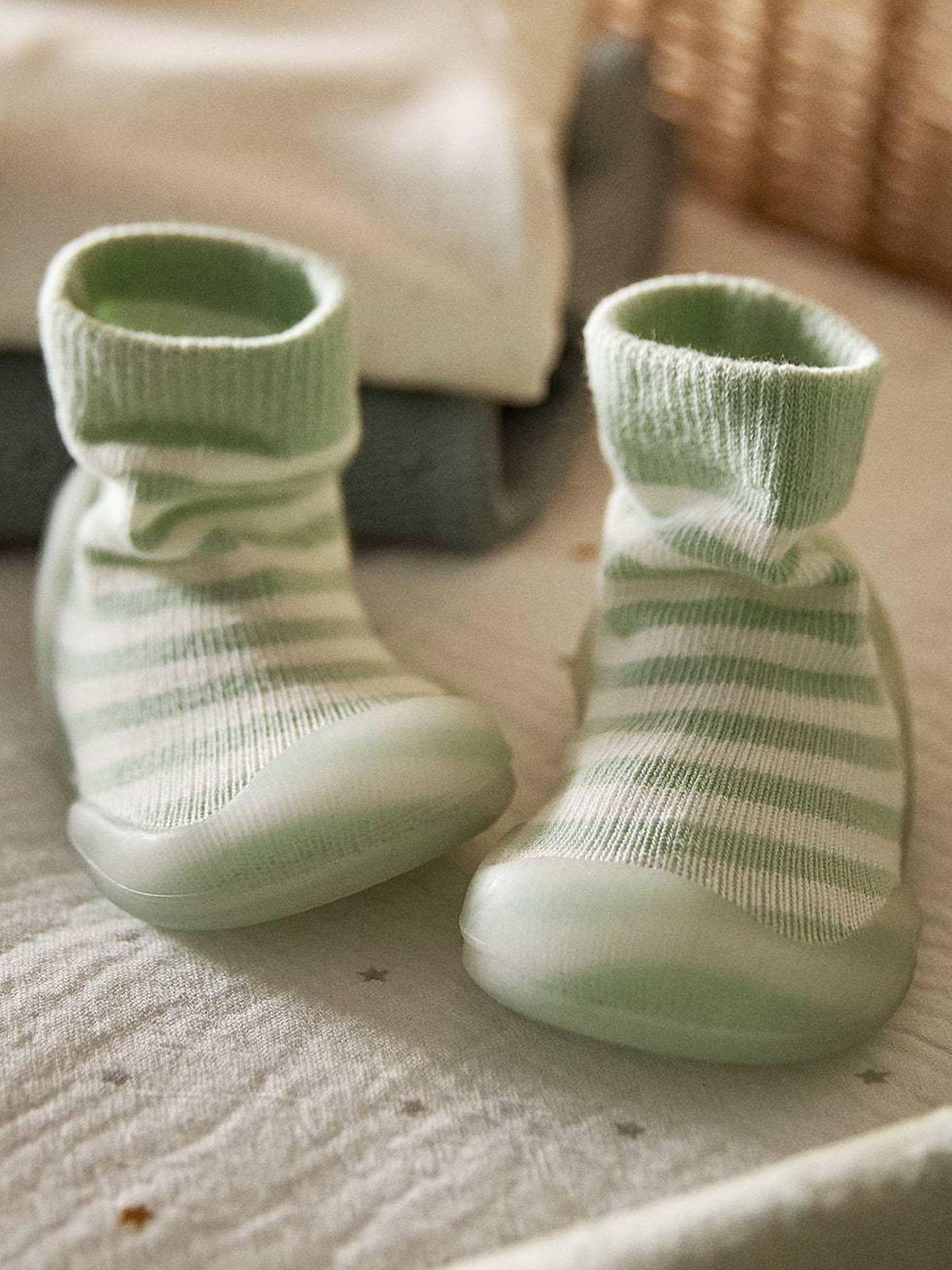 Calcetines de Zara Home. (Cortesía)