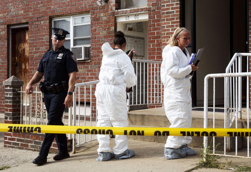 Foto: Cuatro muertos en un suceso de suicidio en Nueva York (EFE)
