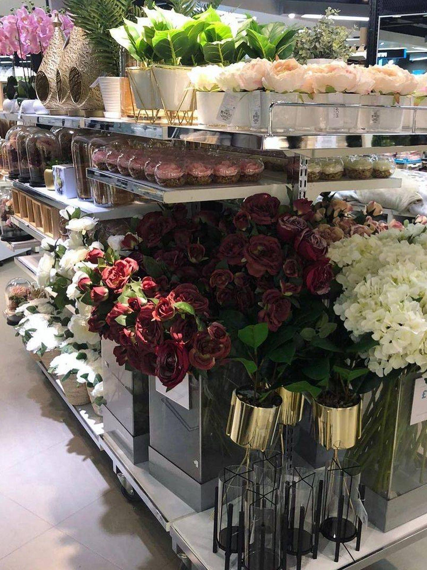 Sección de flores de Primark. (Instagram, @primarkhome)