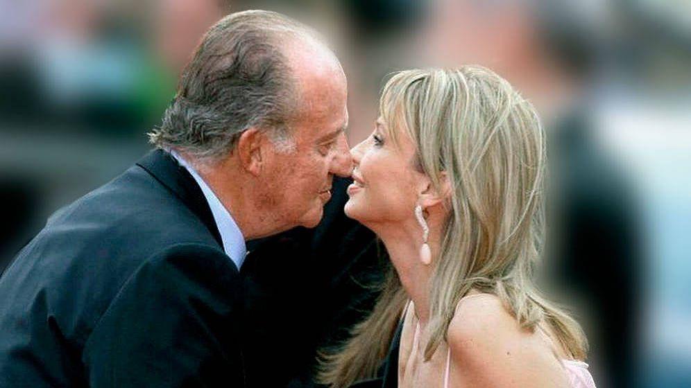 Foto: El rey Juan Carlos y Corinna en una imagen de archivo. (EFE)