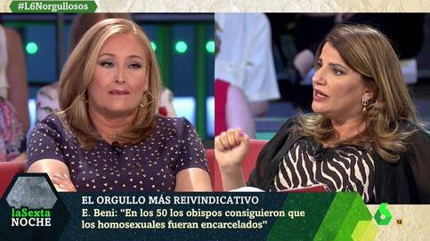 Bronca entre Elisa Beni y María Claver por la presencia de Cs en el Orgullo