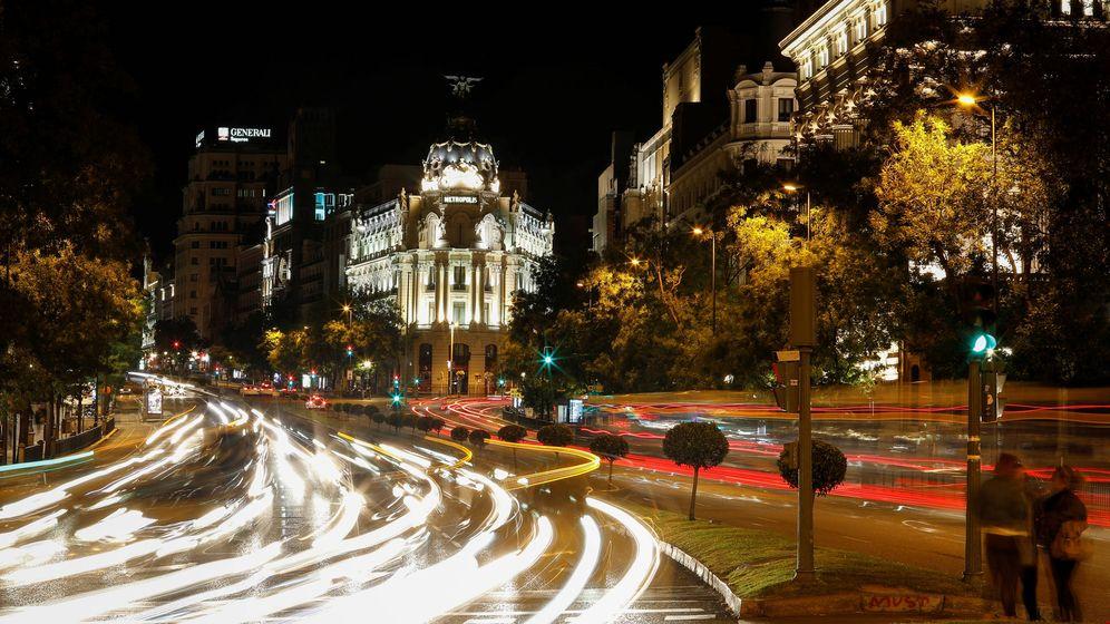 Foto: Vista del madrileño edificio Metrópolis. (Reuters)