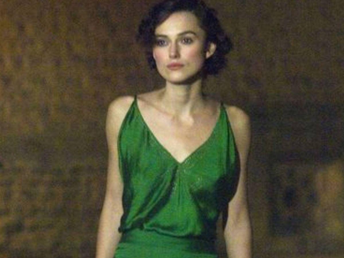 Foto: Keira Knightley en un fotograma de 'Expiación'. (Universal Pictures)