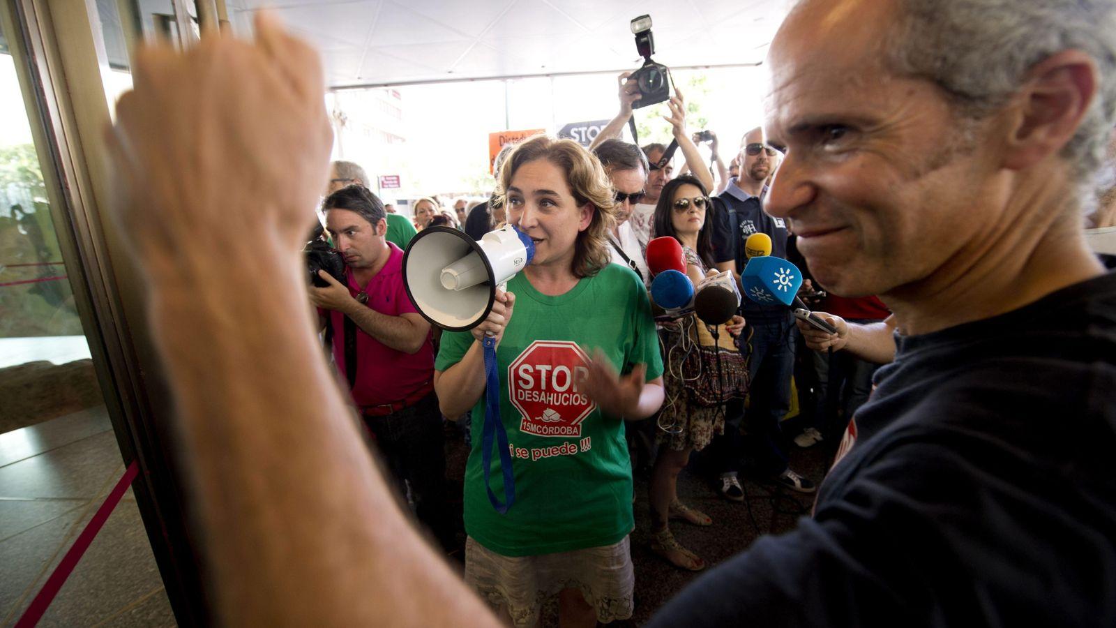 Foto: La que fuera portavoz de la Plataforma de Afectados por la Hipoteca, Ada Colau, en una imagen de archivo. (Efe)