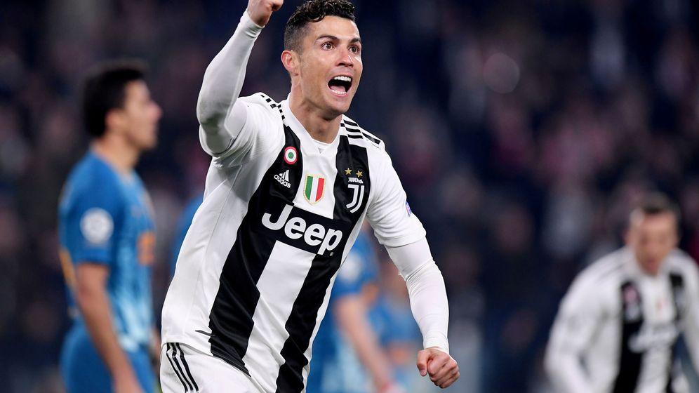 Foto: Cristiano Ronaldo celebra un gol contra el Atlético de Madrid. (Reuters)