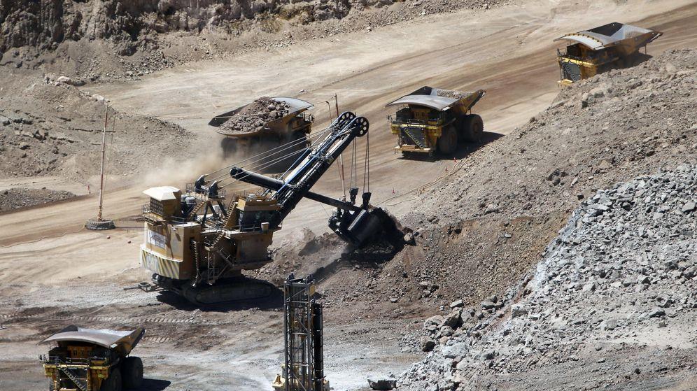 Foto: La minera polaca KGHM en su mina de cobre Sierra Gorda.