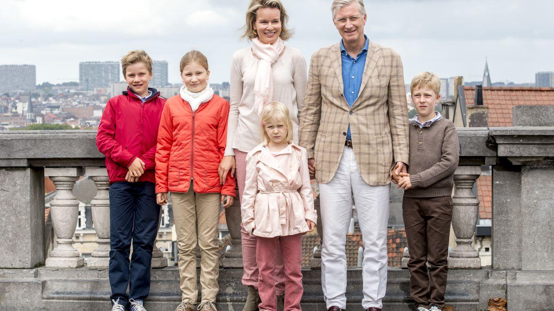 Foto: La familia real de Bélgica en una imagen de archivo (Gtres)