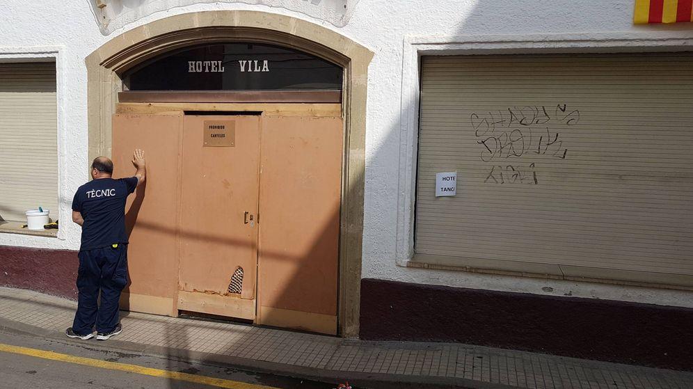 Foto: El hotel ya está cerrado. (EC)