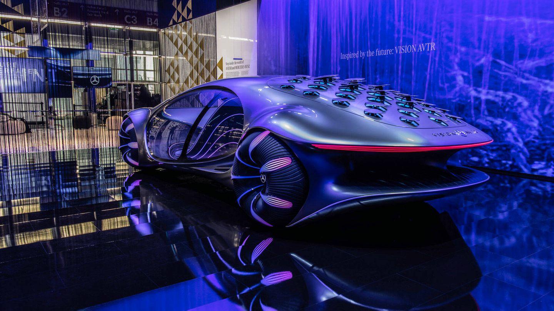 Mercedes-Benz Vision AVTR 2021 en la feria IAA Mobility 2021. (Mercedes)